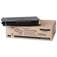 Тонер-картридж для XEROX Phaser 6100 / желтый повышенной  / 106R00682 / Оригинал